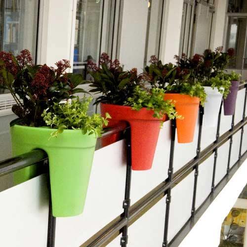 Balkon plantenbakken originele plantenbakken for Balkon bloembak
