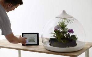 verzorg planten met IPad