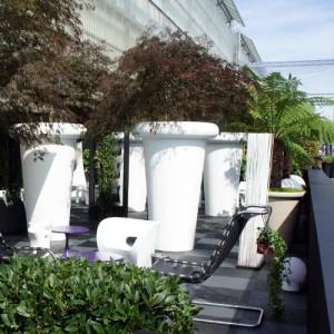 plantenbak van 2 meter hoog