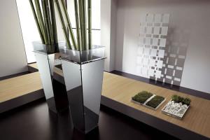 Tonelli Design glazen plantenpot