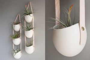 Porseleinen plantenbakken