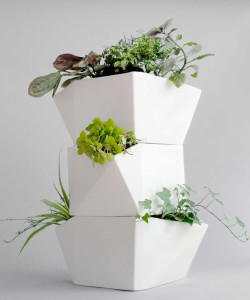 Totemplaal plantenbak