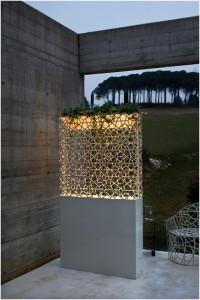 decastelli verlichte plantenbak