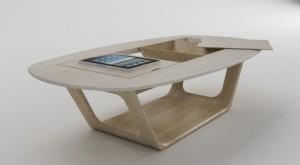 tafel met gadgets