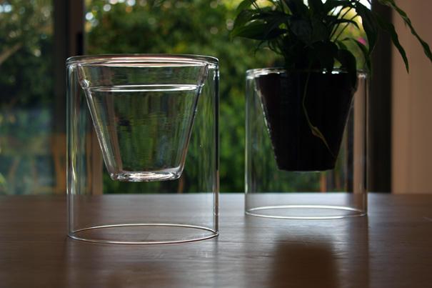 glazen plantenbak