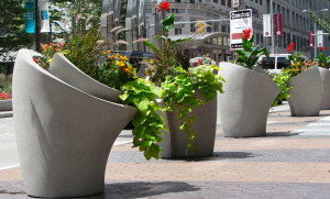 plantenbak openbare ruimte