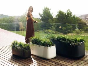 langwerpige plantenbak