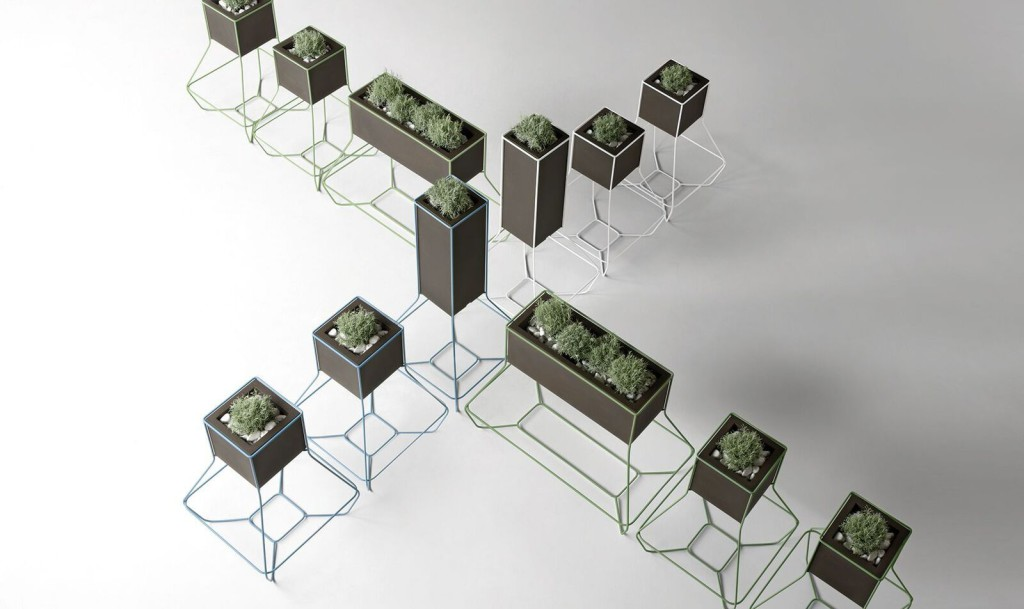 Plantenbakken PlusT design